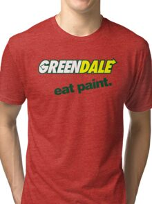 Subway Community College Tri-blend T-Shirt