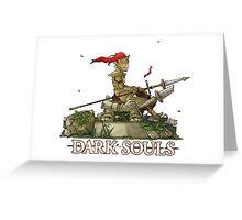 Dragonslayer Ornstein  - Resting Greeting Card