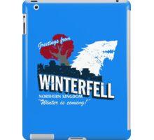 Greetings from Winterfell iPad Case/Skin