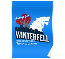 Greetings from Winterfell Poster