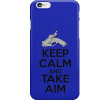 Dreamcast Keep Calm and Take Aim iPhone Case/Skin