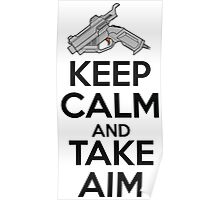Dreamcast Keep Calm and Take Aim Poster