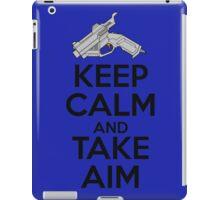 Dreamcast Keep Calm and Take Aim iPad Case/Skin