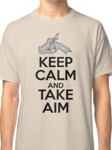 Dreamcast Keep Calm and Take Aim Classic T-Shirt