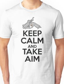 Dreamcast Keep Calm and Take Aim Unisex T-Shirt