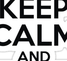 Dreamcast Keep Calm and Take Aim Sticker