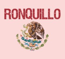 Ronquillo Surname Mexican Kids Clothes