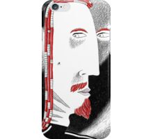 The watching from the depths of space iPhone Case/Skin
