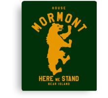 HOUSE MO 1 Canvas Print