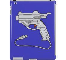 Dreamcast Light Gun (On Blue) iPad Case/Skin