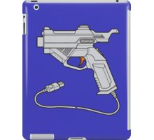 Dreamcast Light Gun (On Blue) iPad Case/Skin