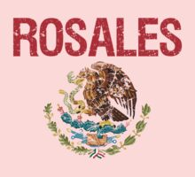 Rosales Surname Mexican Kids Clothes
