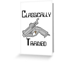 Dreamcast Classically Trained Greeting Card