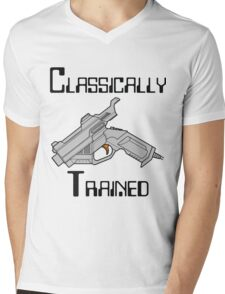 Dreamcast Classically Trained Mens V-Neck T-Shirt