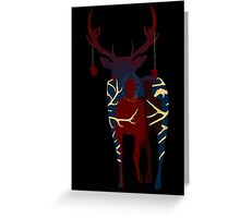 The Bloody Stag Greeting Card