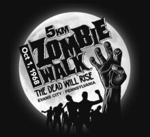 Zombie Walk - White Kids Tee