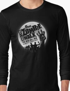 Zombie Walk - White Long Sleeve T-Shirt