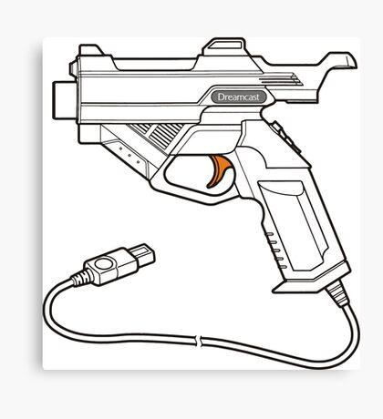 Dreamcast Light Gun Canvas Print