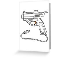 Dreamcast Light Gun Greeting Card