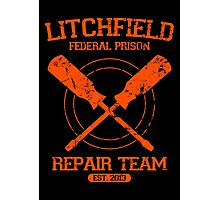 Litchfield Repair Team Photographic Print