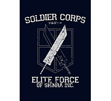 Soldier Corps Photographic Print