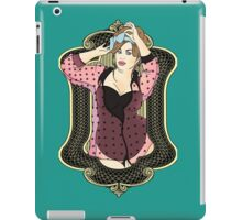 Fat Woman In Lingerie iPad Case/Skin