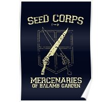 SeeD Corps Poster