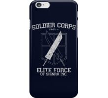 Soldier Corps iPhone Case/Skin