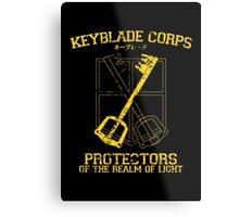 Keyblade Corps Metal Print