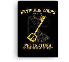 Keyblade Corps Canvas Print