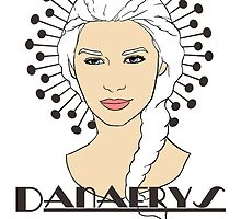 Danaerys Targaryen by CatAstrophe