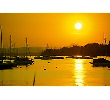 Lake Constance Sunset (Bodensee) Photographic Print