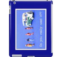 Do you really need it?  iPad Case/Skin