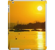 Lake Constance Sunset (Bodensee) iPad Case/Skin