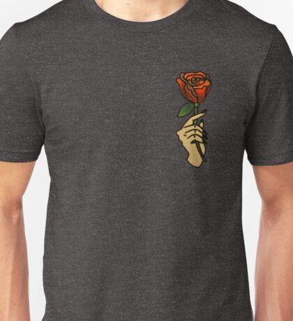hand / rose Unisex T-Shirt