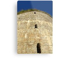 Old tower against the blue sky Metal Print
