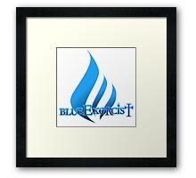 Blue Exorcist Framed Print