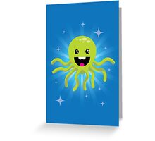 Happy Octopus Greeting Card
