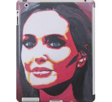 Portrait  of a tough woman iPad Case/Skin