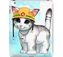 rescue cat  iPad Case/Skin
