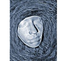Cyber face Photographic Print