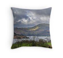 Ullswater Lake District Throw Pillow