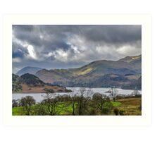 Ullswater Lake District Art Print