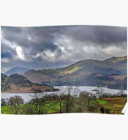 Ullswater Lake District Poster