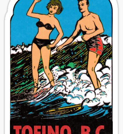 Tofino British Columbia Vintage Travel Decal Sticker