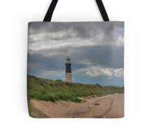 Spurn Point Lighthouse Tote Bag