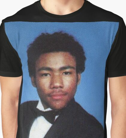 Donald Glover Yearbook Graphic T-Shirt