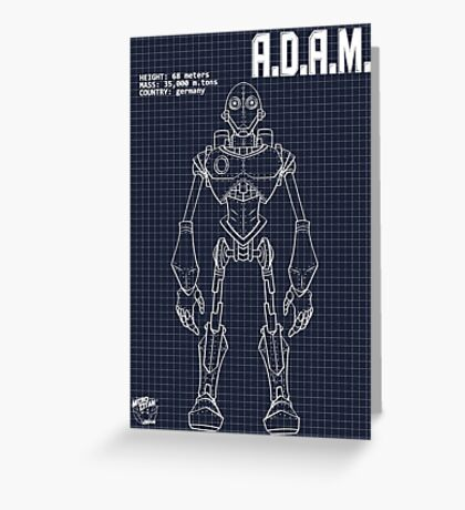 Schematic: A.D.A.M. Greeting Card