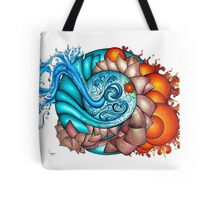 earth, wind, water and fire Tote Bag