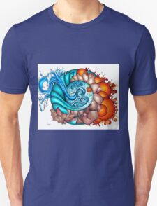 earth, wind, water and fire Unisex T-Shirt